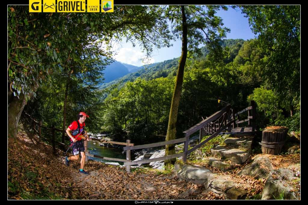 Nickademus on his way to 2nd place in the Tor des Geants ultra race