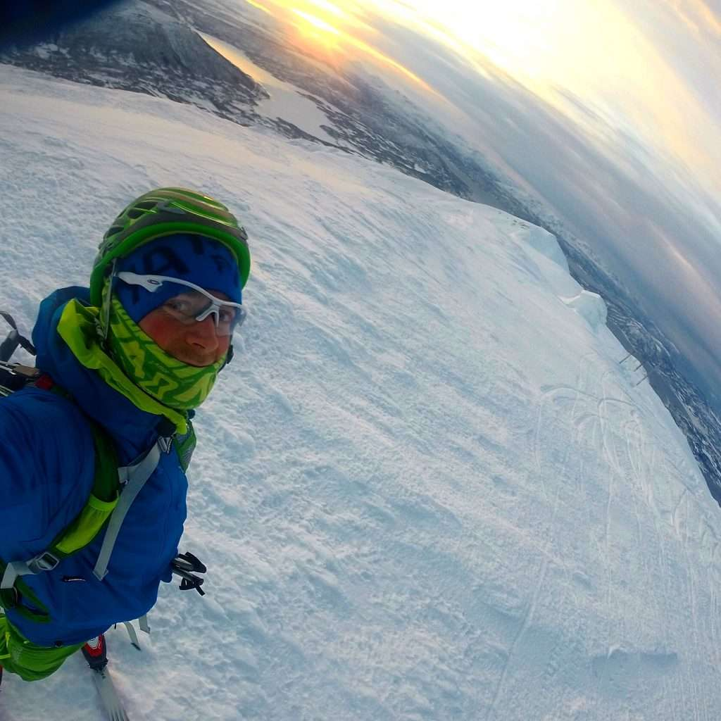 Eirik is using ski-mountaineering to help train for his mountain running races and the Empire State Building Run-Up