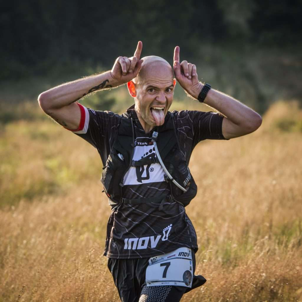 Gediminas Grinius (aka the devil) will race in many of the world's biggest ultra races in 2014. Photo by Piotr Dymus