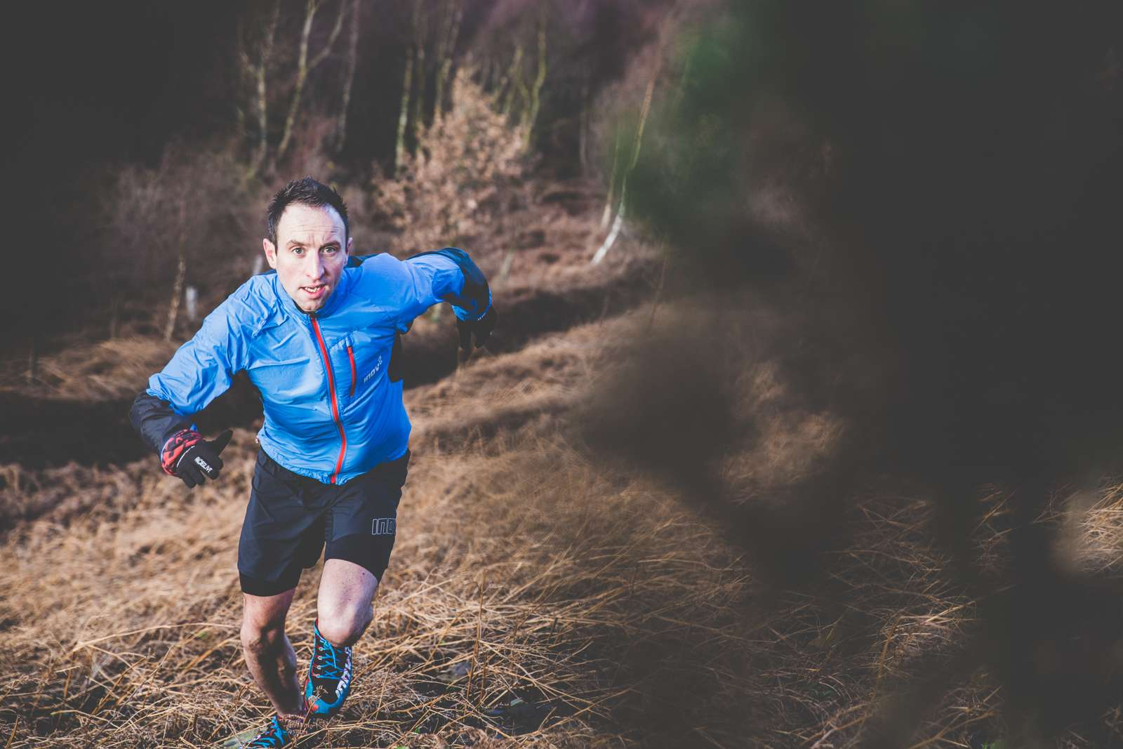 Going off-trail and tackling all terrains imaginable, Ben Mounsey can't wait to get stuck into another season of fell running. All Photos by Robbie Jay Barratt. Kit: X-Talon 212 | Race Elite Windshell FZ | Race Ultra Twin Short | Raceglove
