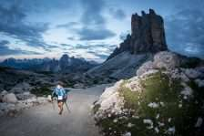 Lavaredo ultra running race