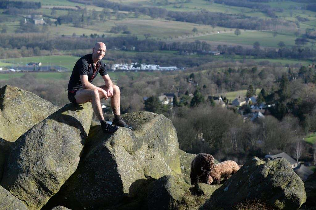 Tom Hollins Double Bob Graham Round. Photo credit: Bruce Rollinson/Yorkshire Post