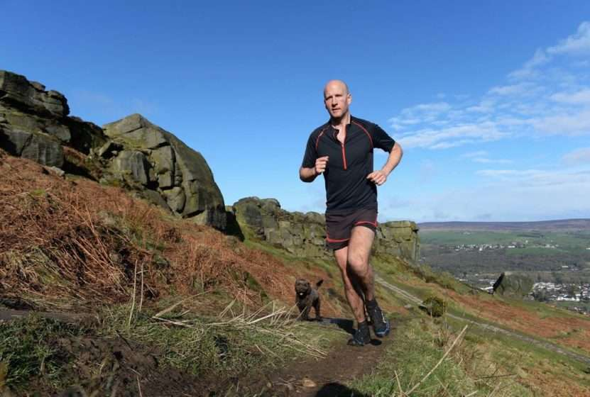 Tom Hollins Double Bob Graham Round attempt. Photo credit: Bruce Rollinson/Yorkshire Post