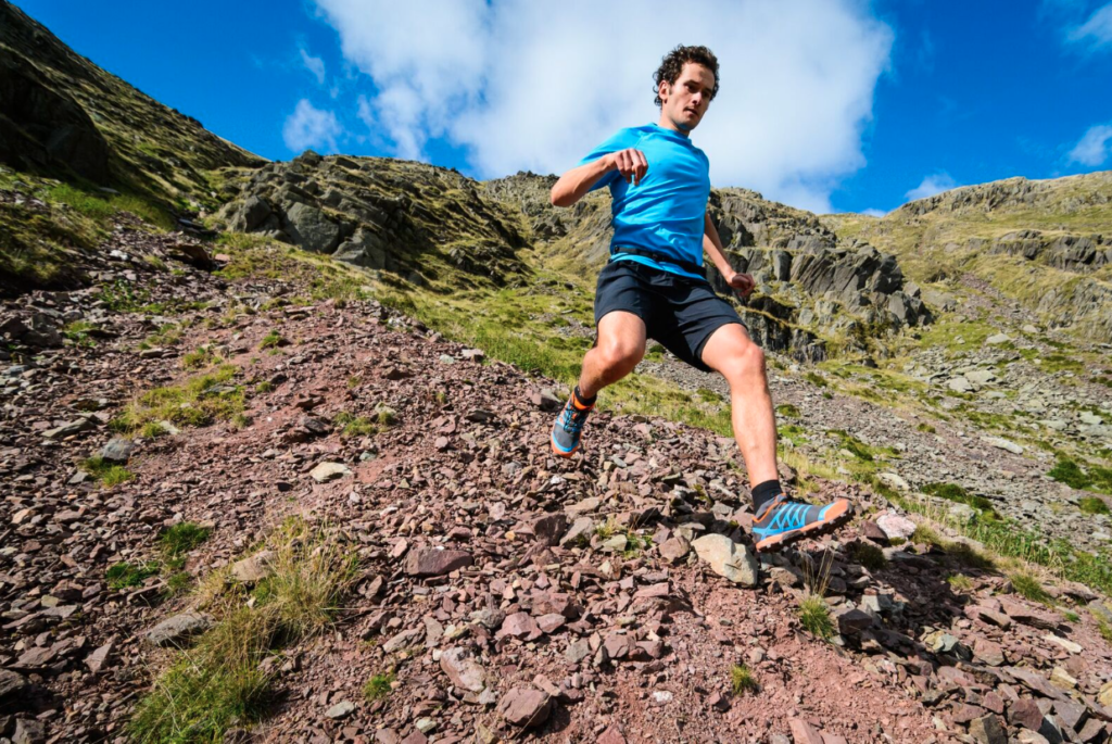 x-talon from inov-8 in action