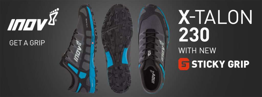 inov-8 X-TALON 230 shoe banner FB