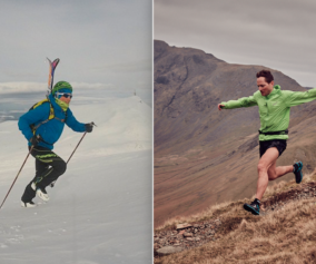 one to use skimo v running