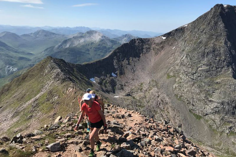Nicky Spinks on her 116-mile Double Ramsay Round in the Scottish mountains.