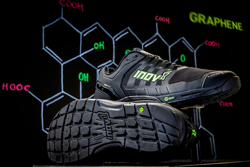 The F-LITE G 290, with graphene-enhanced (G-GRIP) rubber outsoles