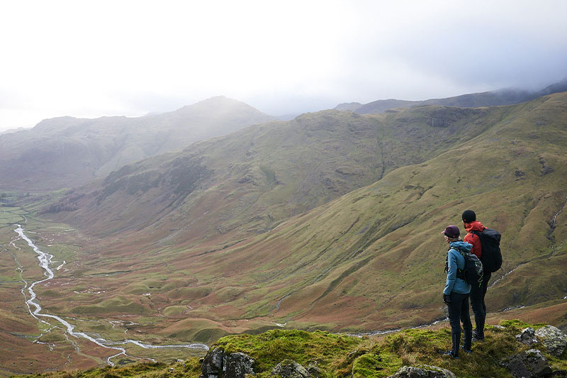 Paul and Nicky Spinks in the Lake District
