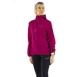 Inov8 Womens Stormshell Full Zip Waterproof Running Jacket Top Blue Sports