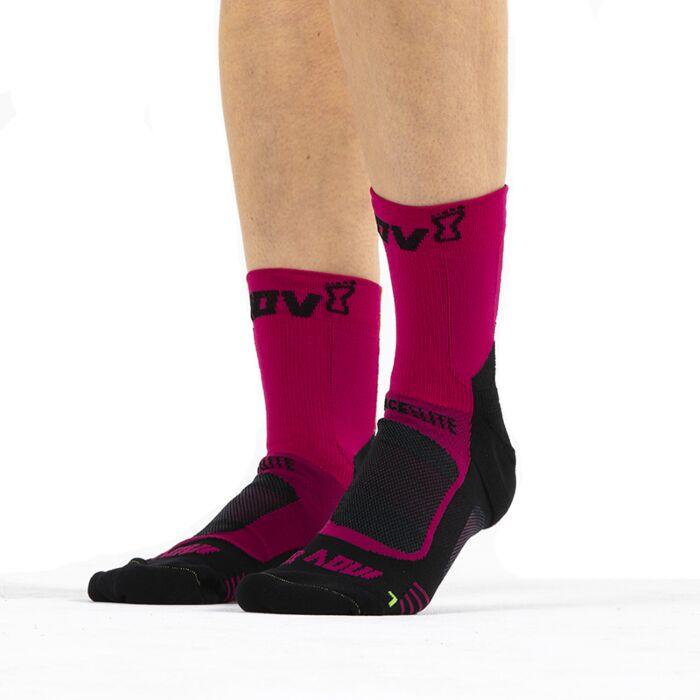 Grey High Running Socks Inov8 Speed 2 Pack