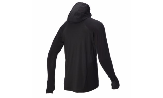 Long Sleeve Zipped Merino Mid Layer Men's