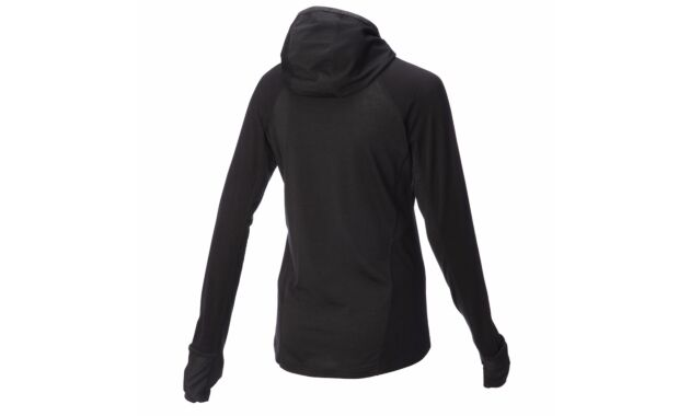 Merino Long Sleeve Mid Layer With Hood Women's