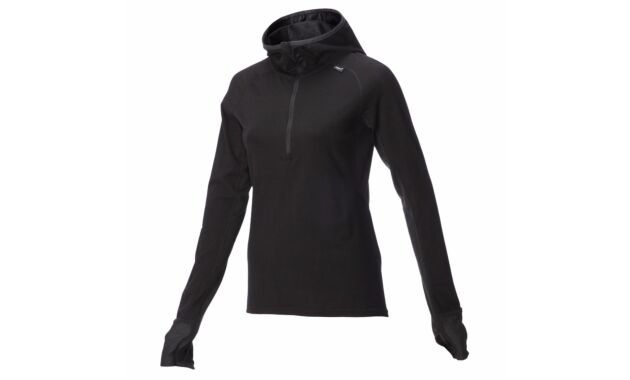 inov-8 Merino Long Sleeve Mid Layer With Hood Women's - top view