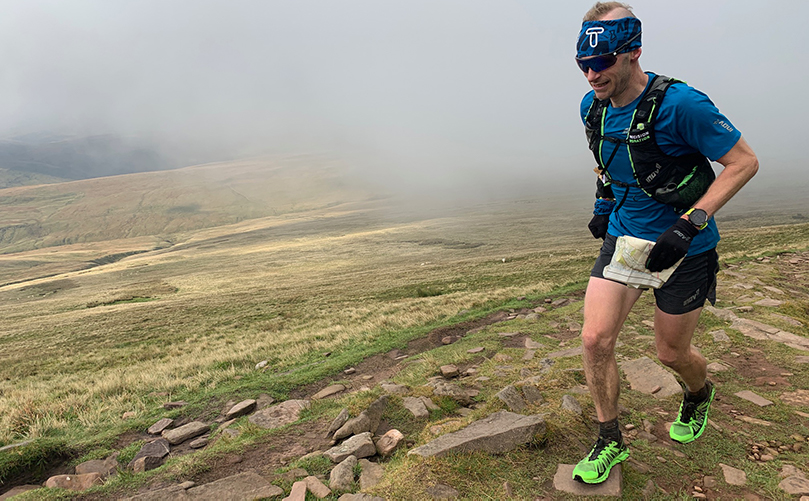 Damian breaks South Wales Traverse record
