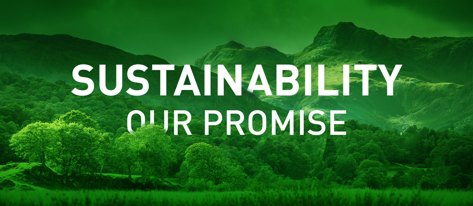Sustainability - Our Promise