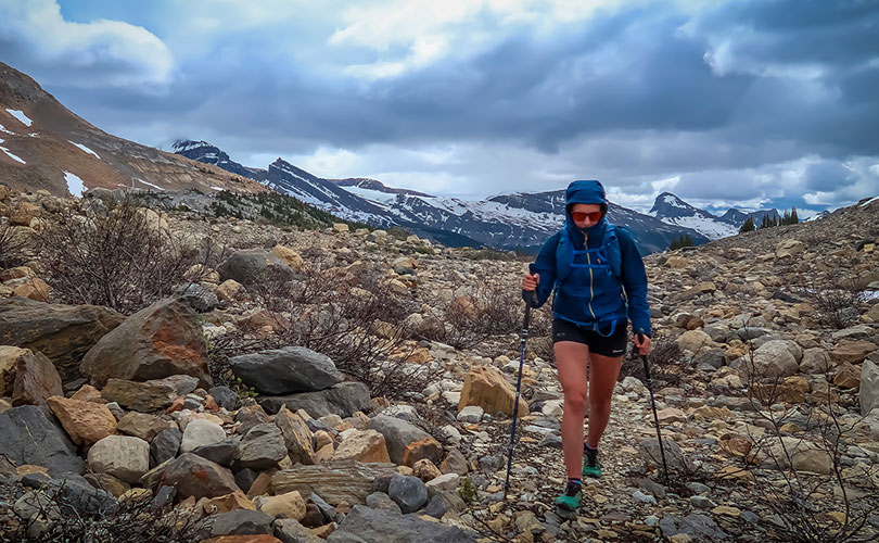 Jenny Tough - running the rockies