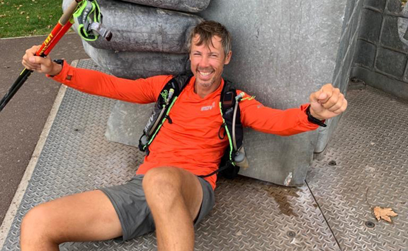 Kristian Morgan sets new record on UK's Longest National Trail