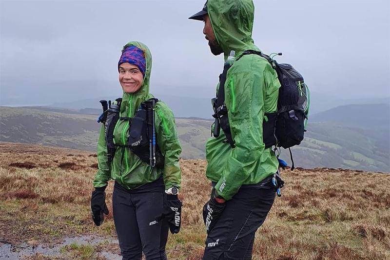 Black Trail runners members in poor conditions