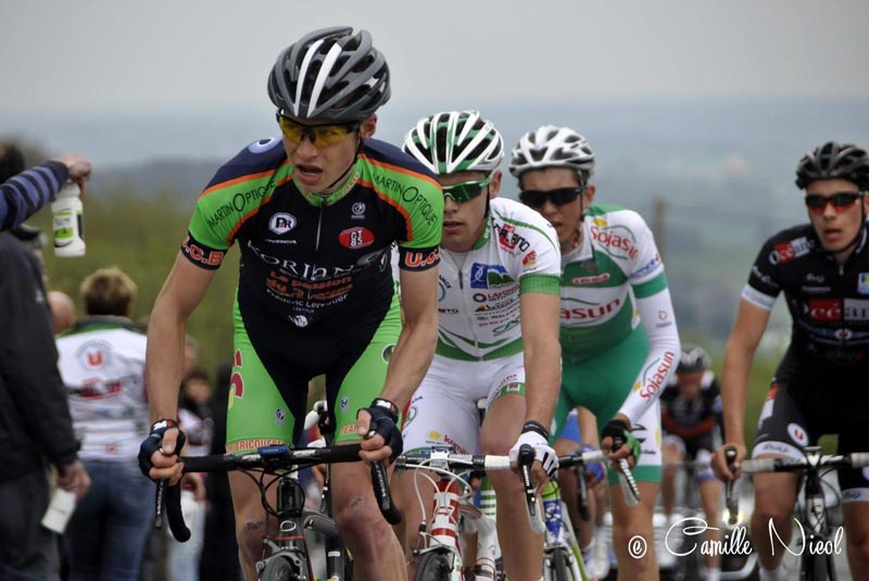 Brennan back in his days of being a professional cyclist