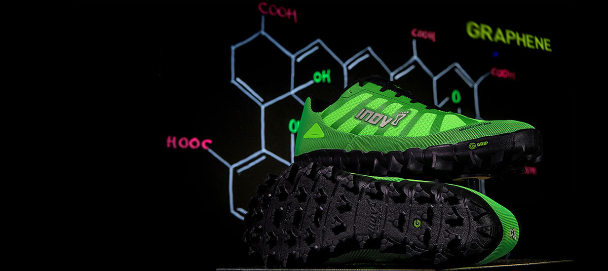 The mud running shoe with the world's toughest grip