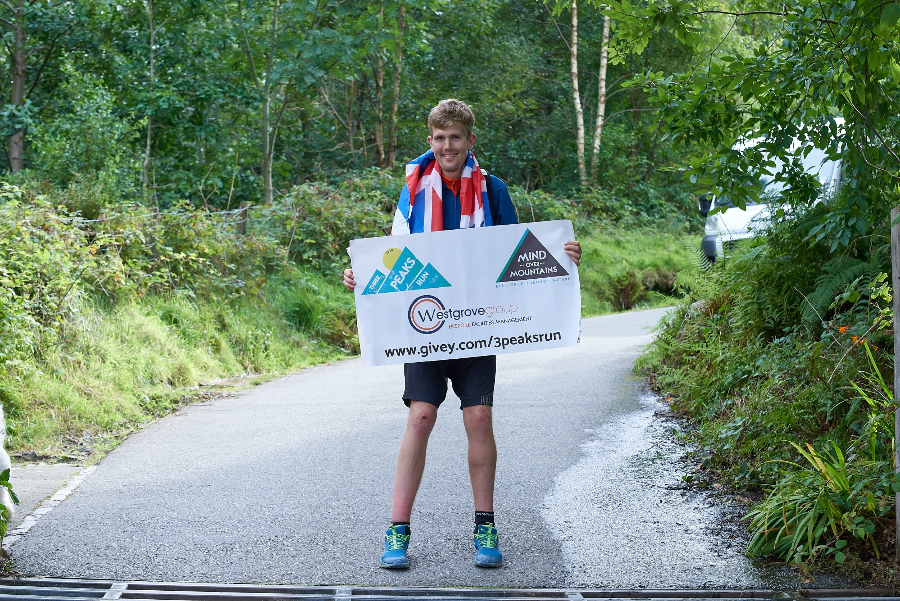 Alex Staniforth is an ultramarathon runner, author, motivational speaker and the founder of mental health charity Mind Over Mountains